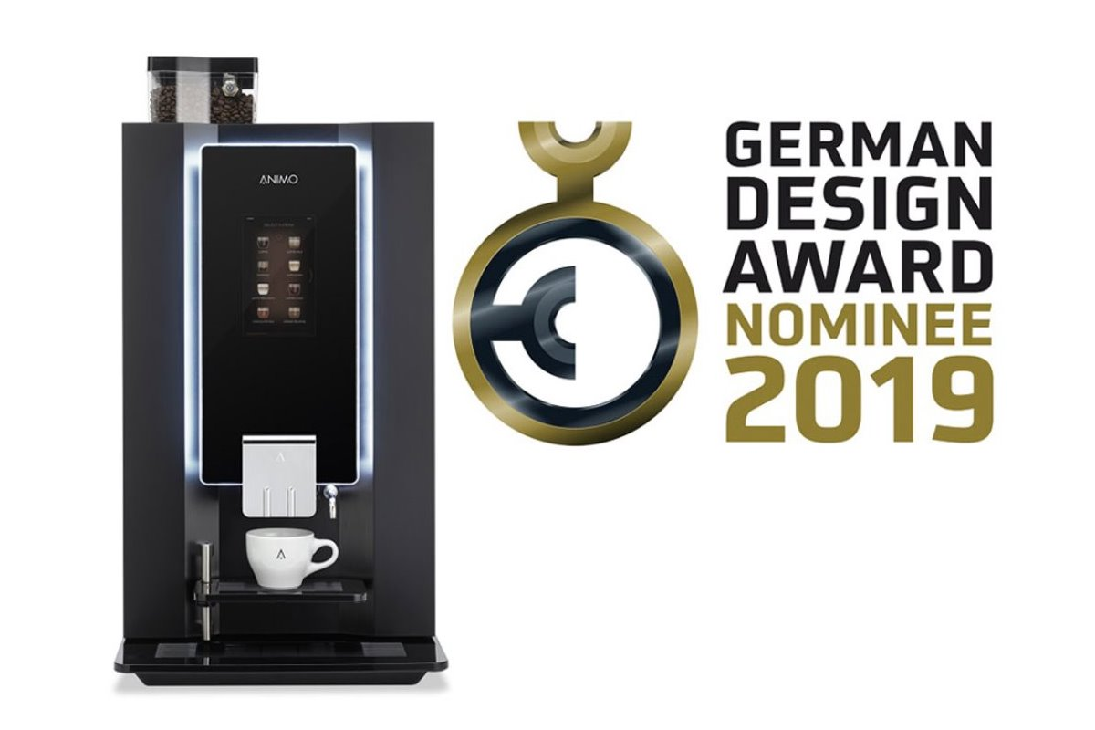 OptiBean nominerad till German Design Award 2019